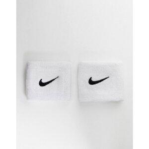 ナイキ Nike メンズ フィットネス・トレーニング リストバンド【Training Swoosh Wristbands In White】White