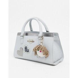 モスキーノ Love Moschino レディース トートバッグ バッグ【mini tote bag with heart emblem in grey】Grey