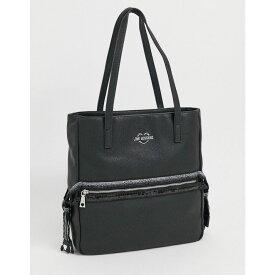 モスキーノ Love Moschino レディース トートバッグ バッグ【tote bag with front zip in black】Black