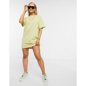 ナイキ Nike レディース ワンピース Tシャツワンピース ミニ丈 ワンピース・ドレス【mini swoosh oversized t-shirt dress in mint green】Mint