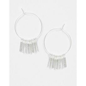 フレンチコネクション French Connection レディース イヤリング・ピアス ジュエリー・アクセサリー【Silver Chain Tassel Earrings】Silver