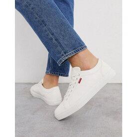リーバイス Levi's メンズ スニーカー シューズ・靴【Woodward Trainers】White