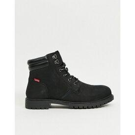 リーバイス Levi's メンズ ブーツ シューズ・靴【Hodges Suede Boot With Small Logo】Black
