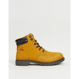 リーバイス Levi's メンズ ブーツ シューズ・靴【Hodges Suede Boot With Small Logo】Tan