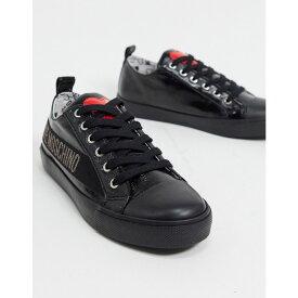 モスキーノ Love Moschino レディース スニーカー レースアップ シューズ・靴【Lace Up Trainers】Black