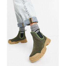 モスキーノ Love Moschino レディース ブーツ チェルシーブーツ チャンキーヒール シューズ・靴【Chunky Chelsea Boots】Brown