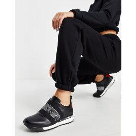 モスキーノ Love Moschino レディース スニーカー シューズ・靴【Logo Trainers】Black