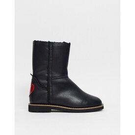モスキーノ Love Moschino レディース ブーツ シューズ・靴【Slip On Boots】Black