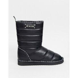 モスキーノ Love Moschino レディース ブーツ シューズ・靴【Puffer Boots】Black