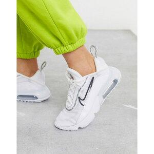 ナイキ Nike レディース スニーカー シューズ・靴【Air Max 2090 trainers in white】Wolf grey