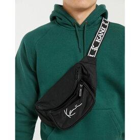 カール カナイ Karl Kani メンズ ボディバッグ・ウエストポーチ バッグ【Signature logo bum bag in black】Black