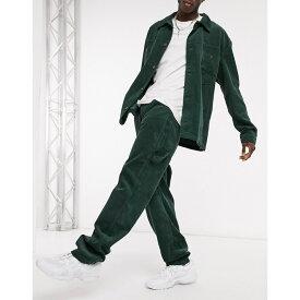 カール カナイ Karl Kani メンズ ボトムス・パンツ 【corduroy trousers in green】Green