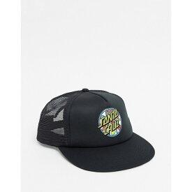 サンタクルーズ Santa Cruz メンズ キャップ 帽子【Jackpot Dot Mesh Cap In Black】Black