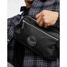 ドクターマーチン Dr Martens メンズ ボディバッグ・ウエストポーチ バッグ【Nylon Tech Backpack In Black Ac912001】Black