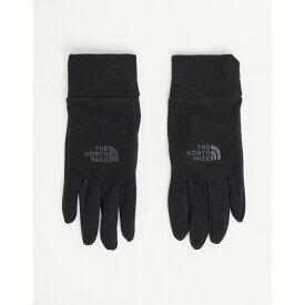 ザ ノースフェイス The North Face メンズ 手袋・グローブ 【Tka 100 Glacier Glove In Black】Tnf black