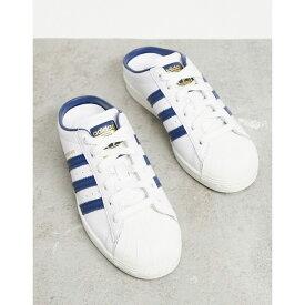 アディダス adidas Originals レディース スリッポン・フラット シューズ・靴【Superstar mules in white】White