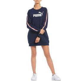 【残り一点限り!】【サイズ:M】プーマ Puma【Tape Pack Logo Dress Peacoat Blue】レディース ワンピース・ドレス ワンピース【あす楽】