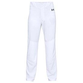 【残り一点限り!】【サイズ:L】アンダーアーマー Under Armour Golf【Under Armour Utility Relaxed Pants White】メンズ 野球 ボトムス・パンツ【あす楽】