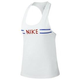 【残り一点限り!】【サイズ:サイズ L】ナイキ Nike【miler tank White/Team Orange Ultra Femme】レディース フィットネス・トレーニング トップス【あす楽】