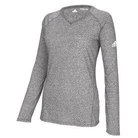 【残り一点限り!】【サイズ:S】アディダス adidas【Team Climalite Long Sleeve T-Shirt】レディース トップス 長袖Tシャツ【あす楽】