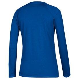 【残り一点限り!】【サイズ:S】アディダス Adidas【adidas Team Climalite Long Sleeve T-Shirt Collegiate Royal】レディース トップス 長袖Tシャツ【あす楽】