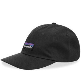 【残り一点限り!】【サイズ:OneSize】パタゴニア Patagonia【p-6 logo trad cap Black】メンズ 帽子 キャップ【あす楽】