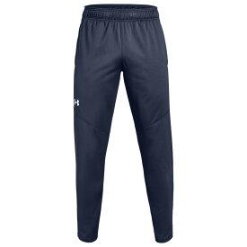 【残り一点限り!】【サイズ:4XL】アンダーアーマー Under Armour【Team team rival knit warm-up pants Midnight/White】メンズ フィットネス・トレーニング ボトムス・パンツ【あす楽】