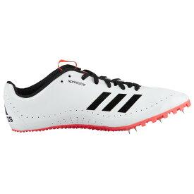 【残り一点限り!】【サイズ:26cm】アディダス Adidas【sprintstar White/Core Black/Shock Red】レディース 陸上 シューズ・靴【あす楽】