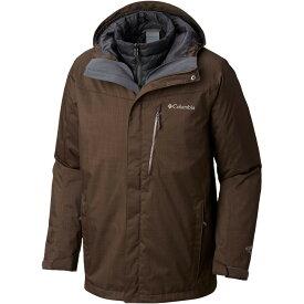 【残り一点限り!】【サイズ:サイズ M】コロンビア Columbia【Whirlibird III Interchange Ski Jacket Bark Melange】メンズ スキー・スノーボード アウター【あす楽】