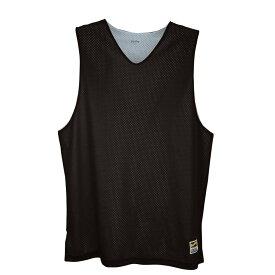 【残り一点限り!】【サイズ:XL】イーストベイ Eastbay【タンクトップ Basic Reversible Mesh Tank Black/Star Silver】メンズ バスケットボール トップス【あす楽】