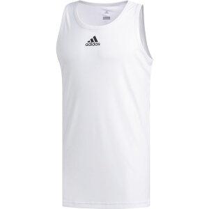 【残り一点限り!】【サイズ:M】アディダス Adidas【タンクトップ 3g tank White】メンズ バスケットボール トップス【あす楽】