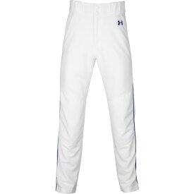 【残り一点限り!】【サイズ:XL】アンダーアーマー Under Armour【Utility Relaxed Piped Pants White/Royal/Royal】メンズ 野球 ボトムス・パンツ【あす楽】