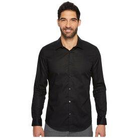 【残り一点限り!】【サイズ:MD】カルバンクライン Calvin Klein【Slim Fit Long Sleeve Infinite Cool Chambray Twill Shirt】メンズ トップス シャツ【あす楽】
