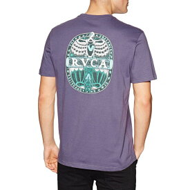 ルーカ RVCA メンズ Tシャツ トップス【Opposites Short Sleeve T-Shirt】Purple Jade