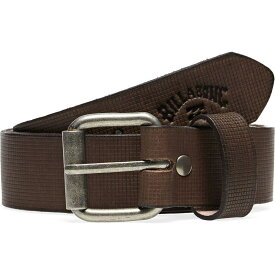 ビラボン Billabong メンズ ベルト 【Daily Leather Belt】Brown