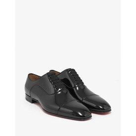 e2f56184a09e クリスチャン ルブタン Christian Louboutin メンズ シューズ・靴 革靴・ビジネスシューズ Greggo Flat Patent