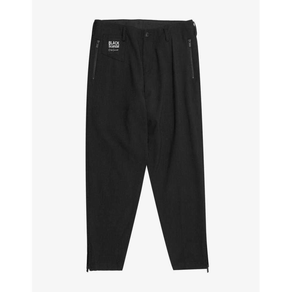 ヨウジヤマモト Yohji Yamamoto メンズ ボトムス・パンツ【Zip Pocket Trousers】Black
