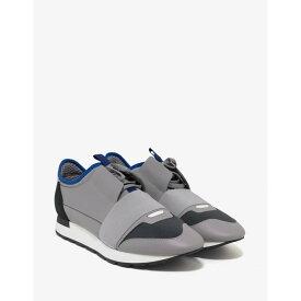 バレンシアガ Balenciaga メンズ ランニング・ウォーキング シューズ・靴【Race Runners】Grey