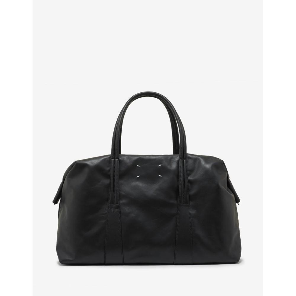 メゾン マルジェラ Maison Margiela メンズ バッグ ボストンバッグ・ダッフルバッグ【Leather Weekend Bag】Black