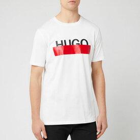 ヒューゴ ボス HUGO メンズ Tシャツ トップス【dolive t-shirt - white】White