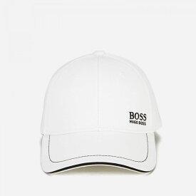 ヒューゴ ボス BOSS メンズ キャップ 帽子【embroidered logo cap - white】White
