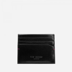 テッドベーカー Ted Baker メンズ カードケース・名刺入れ カードホルダー【wooster contrast internals card holder - black】Black