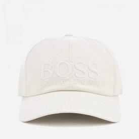 ヒューゴ ボス BOSS メンズ キャップ 帽子【fritz cap - stone】White