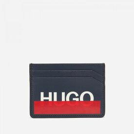 ヒューゴ ボス HUGO メンズ カードケース・名刺入れ カードホルダー【roteliebe card holder - dark blue】Blue