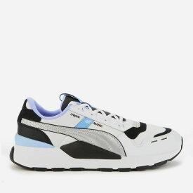 プーマ Puma メンズ ランニング・ウォーキング シューズ・靴【Rs 2.0 Futura Running Style Trainers - Black/Elektro Purple/ Silver】Silver/White/Blue