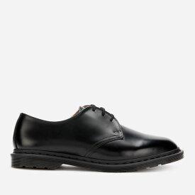 ドクターマーチン Dr. Martens メンズ 革靴・ビジネスシューズ ダービーシューズ シューズ・靴【Archie II Polished Smooth Leather Derby Shoes - Black】Purple