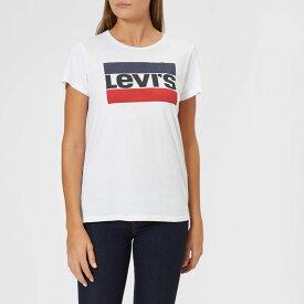 リーバイス Levi's レディース Tシャツ トップス【the perfect t-shirt - sportswear white】White