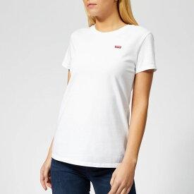 リーバイス Levi's レディース Tシャツ トップス【perfect t-shirt - white】White