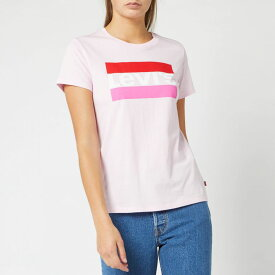 リーバイス Levi's レディース Tシャツ トップス【the perfect t-shirt - colour pink lady】Pink
