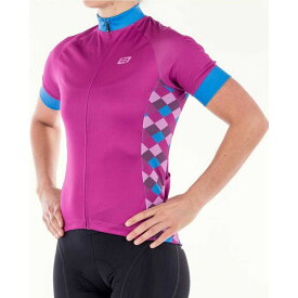 ベルウェザー Bellwether Clothing レディース 自転車 トップス【Bellwether Motion Cycling Jersey】Fuchsia